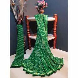 Ridhika Fashion Ladies Georgette Saree