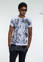 Party And Casual Wear Trendy Men Printed Cotton T Shirt
