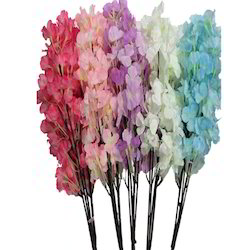 Silk Artificial Blossom Bunch, Packaging Size: 300 Pieces