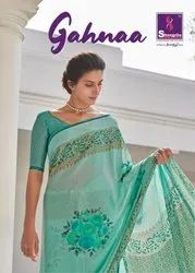 Shangrila Gahnaa Fancy Saree Catalog Collection