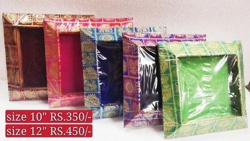 Silk Wedding Tray, Size: 10 Inches