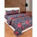 Chilweri Cotton Printed Bedsheet, Type: Double
