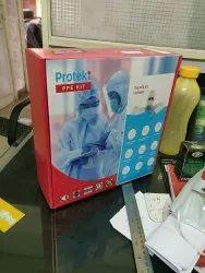 PPE kit packaging box
