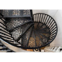Pure Cast Iron Staircase