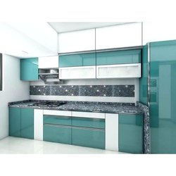Laminated Modular Kitchen, Kitchen Cabinets