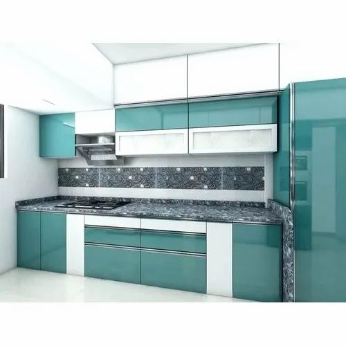 Modular Kitchen Laminated Modular Kitchen Manufacturer From Nashik