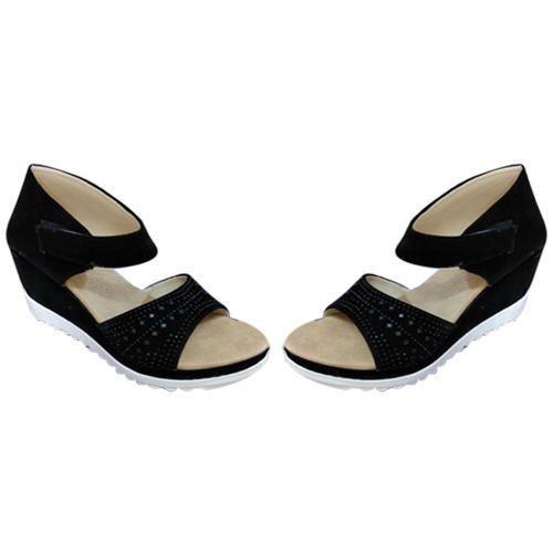e47623fac467 Women Ladies Trendy Wedge Sandals