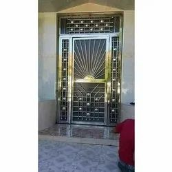 Polished SS304 Stainless Steel Railing Door