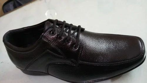 d81d9c1b583b84 Frendo Men Black Pure Leather Formal Shoes, Size: 6-10, Rs 470 /pair ...