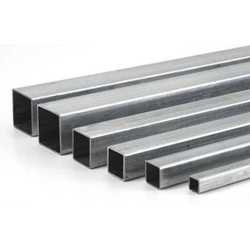 Silver Stainless Steel Square Pipe 304H, Packaging Type: Standard