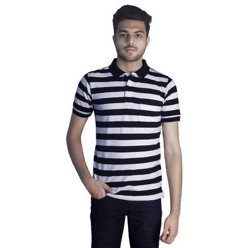 e4f3aaa81312 Line Premium Cotton Rich Polo Neck T-Shirts at Rs 420 /piece ...
