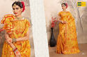 Yellow And Red Printed Earth Women Saree
