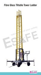 Fibre Glass Tiltable Tower Ladders
