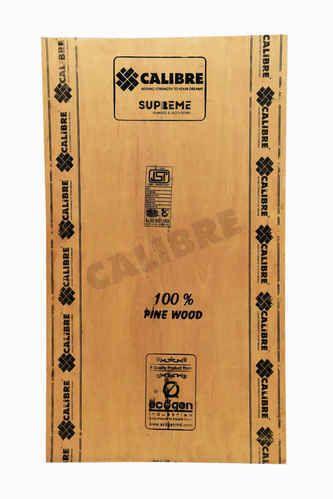 Calibre Brown Pinewood Block Board
