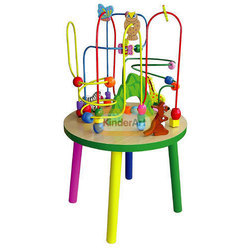 Wire Beads Table Activity Toys