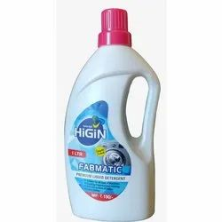 18 Months 1 Litre Fabmatic Liquid Detergent, Packaging Type: Plastic Can