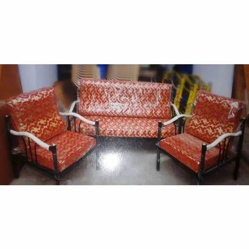 Ssv Furniture Mild Steel Frame Steel Sofa Set Rs 6499 Set S S V Furniture Id 21163955948