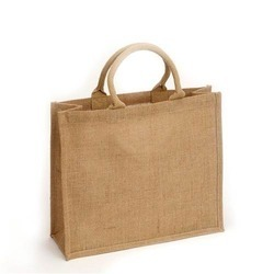 Wheatish Jute Carry Bag, Capacity: 5-10 Kg