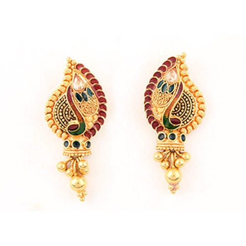 buy jewellery designs price cutout lar amber gold earrings earring rs drop