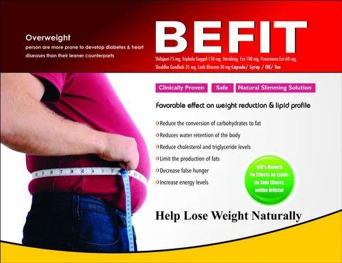 Befit help Lose Weight Naturally Ayurvedic Capsule