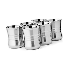 Stainless Steel Drinking Water Glasses