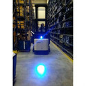 Blue LED Forklift Spotlight