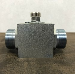 2 Way High Pressure Steel Ball Valve