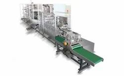 Non Woven 3 Ply Fully Automatic Face Mask Making Machine