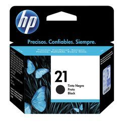 21 HP Black Ink Cartridges