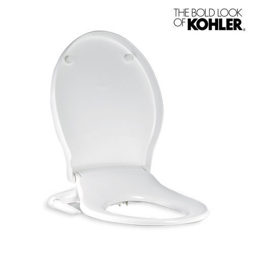 Remarkable White Kohler Pureclean Bidet Seat Round Kohler India Dailytribune Chair Design For Home Dailytribuneorg