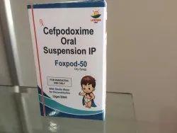 Foxpod-50 Cefpodoxime Oral Suspension IP