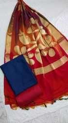 Fancy Banarsi Silk Suits