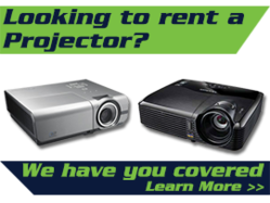 Projector Rental, Application/Usage: Business