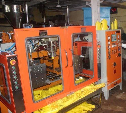 2 Ltrs. Jerrycans Blow Molding Machine