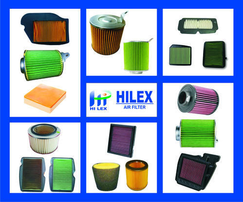 Two Wheeler Hilex TVS Victor New Air Paper Filter, For Automobile