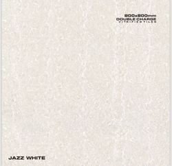 Double Charge 800x800 Jazz White Tile