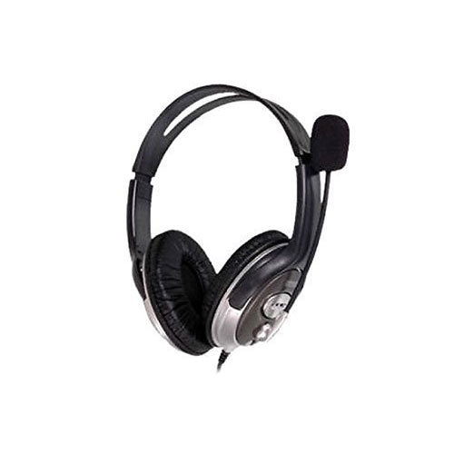 782a20ee72d Black HP HEADPHONE WITH MICROPHONE, Rs 490 /piece, AVM Business ...