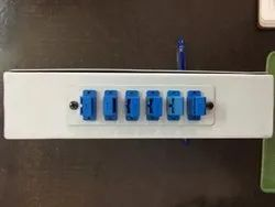 6 Port Fully Loaded DIN RAIL Mounted LIU
