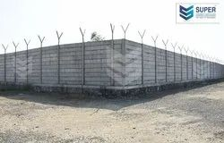 Cement & Concrete Folding Boundary Wall