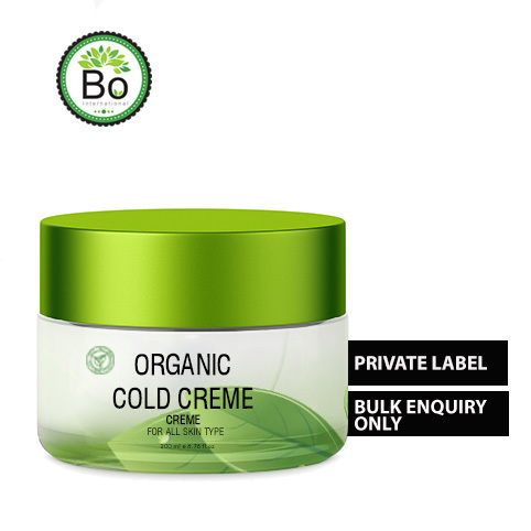 Organic Cold Cream, For Third Party or, Type Of Packing: Plastic Container