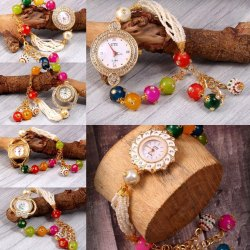 Party Wear Round Titan Women Stylish Watch