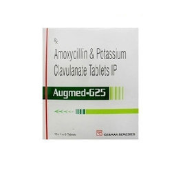 Amoxicillin Potassium and Clavulanate Tablets, Packaging Size: 10x1x6