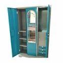 Capella Triple Door Steel Almirah For Home