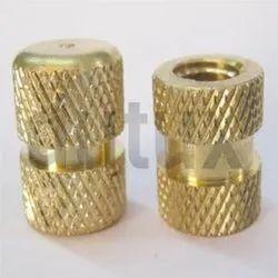 DBI-047 Double Knurling Brass Insert