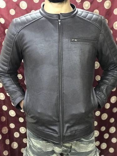 ee0405cee Brown Pu Leather Jacket
