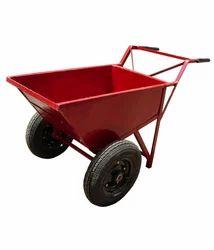Rubber Double Wheelbarrow