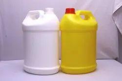 HDPE Carboy 5 Liter - PP01 Half Round