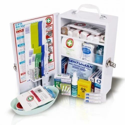 Plastic First Aid Box for Home