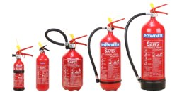Safex Powder Based Fire Extinguisher (Aluminium)- 02kg