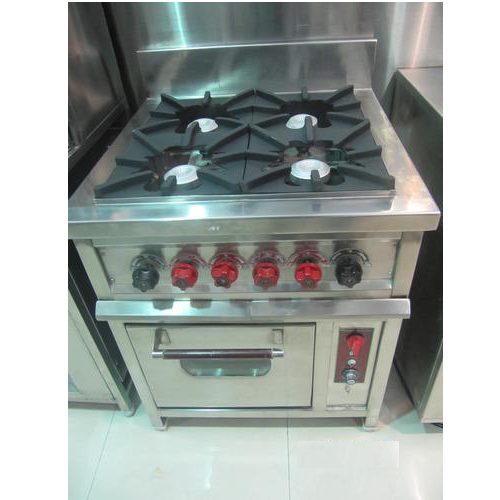 Burner Gas Range With Oven
